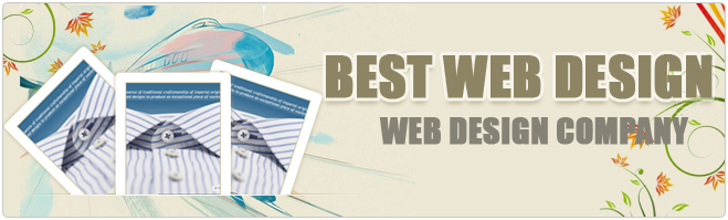 Applying the best design with Web design company India