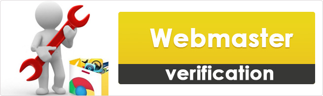 Webmaster verification- must need for a website