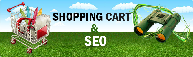 Shopping cart software & SEO