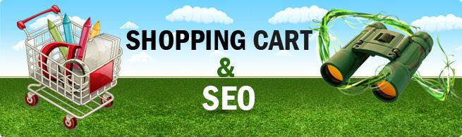 Shopping cart software & SEO