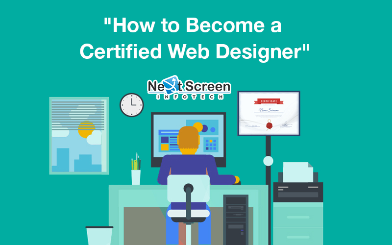 how to become a certified web designer next screen blog