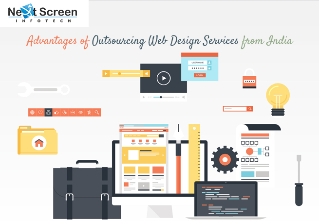 Advantages Of Outsourcing Web Design Services From Indianext Screen Blog