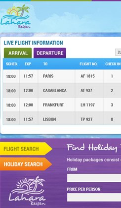 live flight information