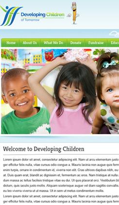 developing children